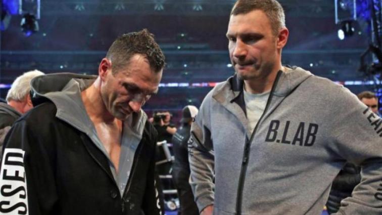 Джошуа едва не подрался с братом Кличко после боя