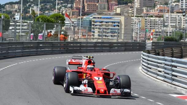 Кими Райкконен выиграл квалификацию Гран-при Монако