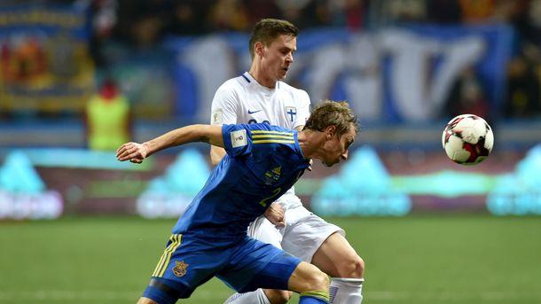 Сборная Финляндии назвала состав на матч с Украиной