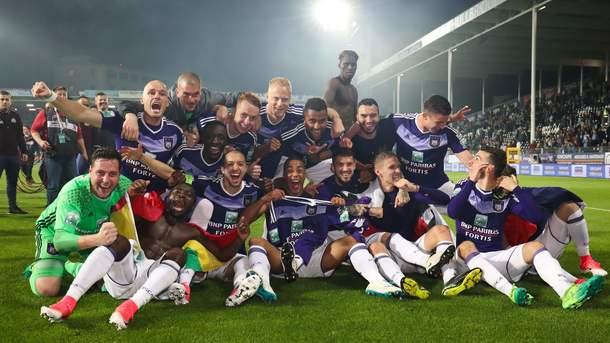 Теодорчик помог «Андерлехту» в 34-й раз выиграть чемпионат Бельгии