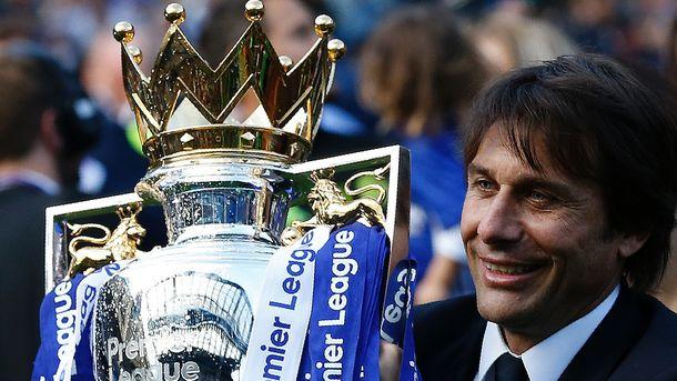 Антонио Конте признан тренером года в чемпионате Англии