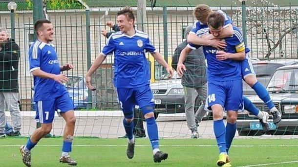 «Кремень» вышел в Первую лигу чемпионата Украины