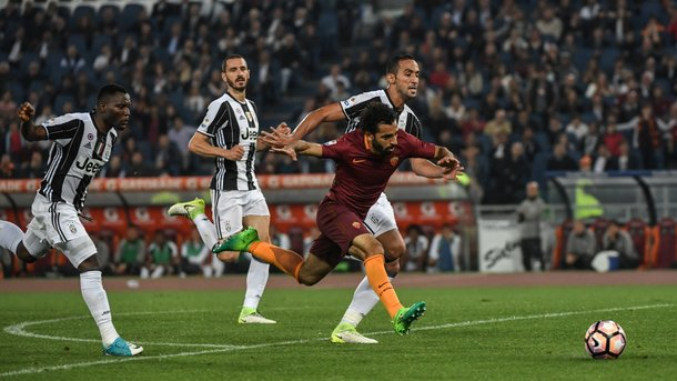 «Рома» не дала «Ювентусу» досрочно стать чемпионом