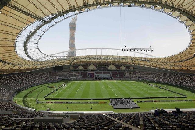 В Катаре открыли первый стадион к ЧМ-2022