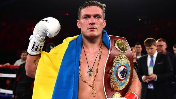 Александр Усик назвал украинцев плаксами и «терпилами»