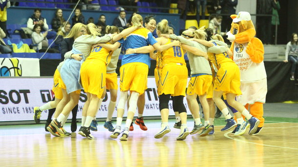 Обнародован состав женской сборной Украины, которая готовится к Евробаскету-2017