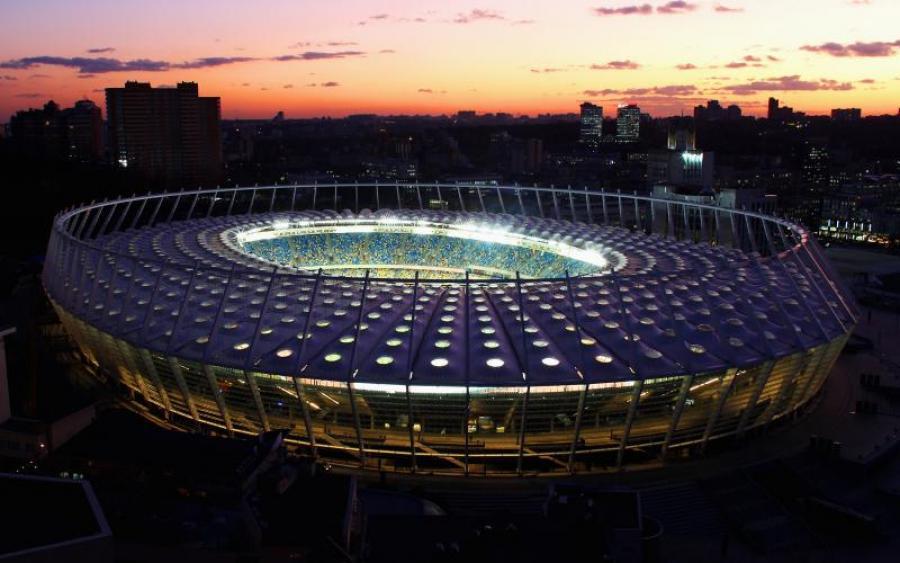 В Киеве началась подготовка к проведению финала Лиги чемпионов