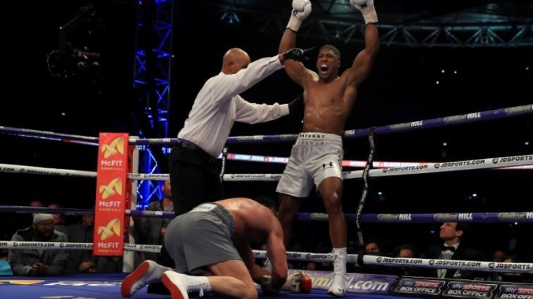 Джошуа поднялся на шестое место в рейтинге лучших боксеров