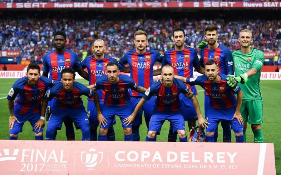 «Барселона» выиграла Кубок Испании в рекордные 29-й раз