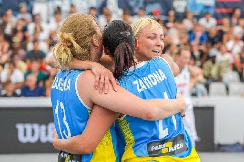 Украинские баскетболистки завоевали «бронзу» на чемпионате мира