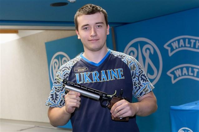 Львовянин получил «золото» юниорского ЧМ-2017 по стрельбе из пистолета