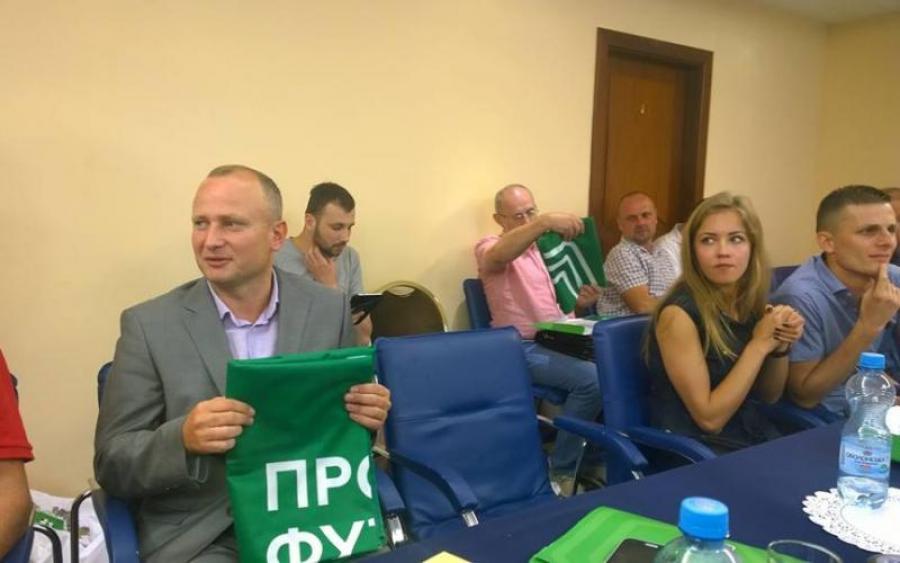 Первый чемпион Украины возвращается в профессиональный футбол