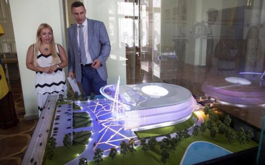 Кличко собирается построить в Киеве многофункциональный проект