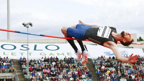 Богдан Бондаренко занял второе место на этапе «Бриллиантовой лиги»