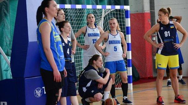 Женская сборная Украины по баскетболу сегодня сыграет с Канадой