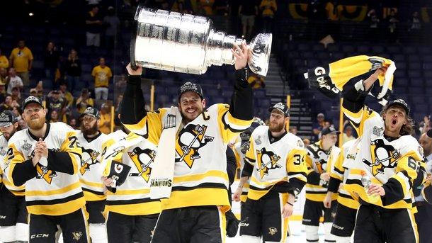 «Питтсбург» в пятый раз выиграл Кубок Стэнли
