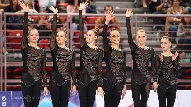 Украинские гимнастки со скандалом завоевали четыре медали в Испании