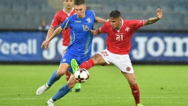 ФИФА лишила Мальту официальной победы над Украиной