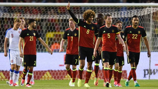 Сборная Бельгии выиграла в Чехии в товарищеском матче