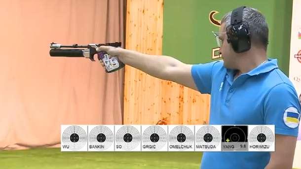 Украинский стрелок Омельчук завоевал бронзу на Кубке мира в Азербайджане