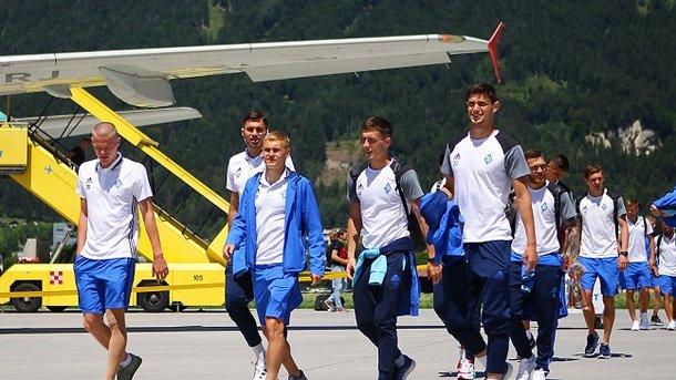 28 футболистов «Динамо» начали предсезонный сбор в Австрии