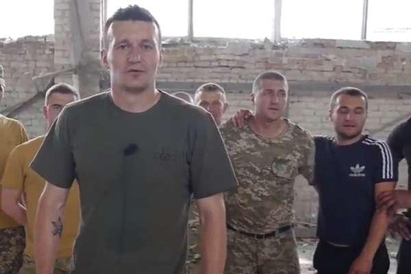 Федецкий сыграл футбол под пулями на Донбассе (видео)