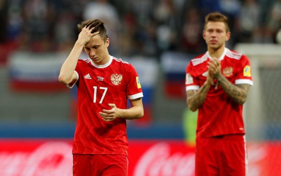 Россия с позором вылетела из Кубка Конфедераций
