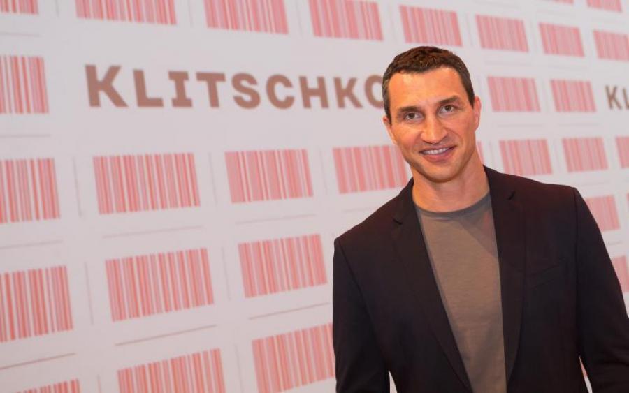 Кличко представил свой новый бренд