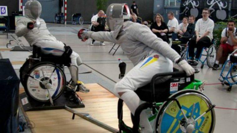 Украинские паралимпийцы завоевали шесть медалей Кубка мира по фехтованию