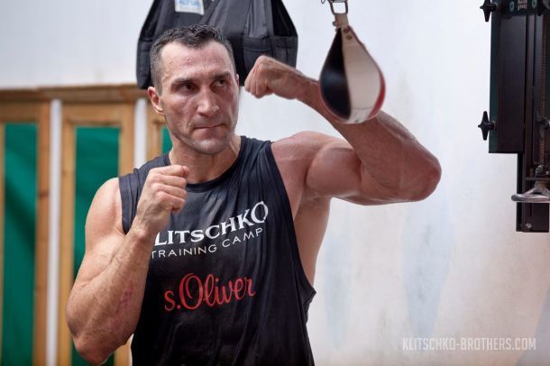 Владимир Кличко осуществил мечту юного боксера