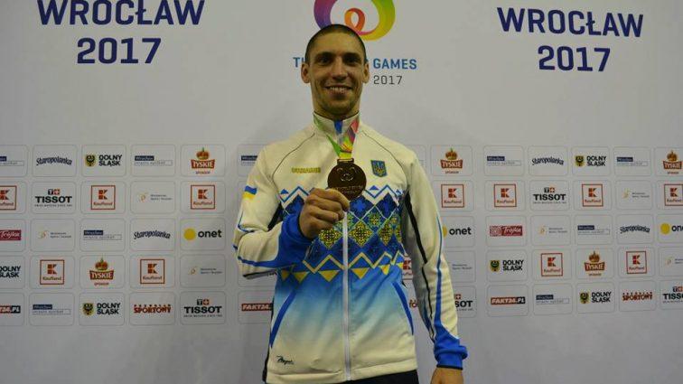 Львовский каратист Станислав Горуна получил золотую медаль Х Всемирных Игр-2017