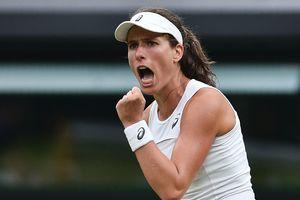 Йоханна Конта — первая за 39 лет британка, которая сыграет в полуфинале Уимблдона