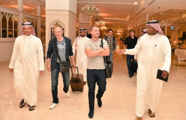 Ребров прибыл в расположение «Аль-Ахли»