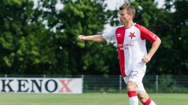 Руслан Ротань забил гол за «Славию» в товарищеском матче
