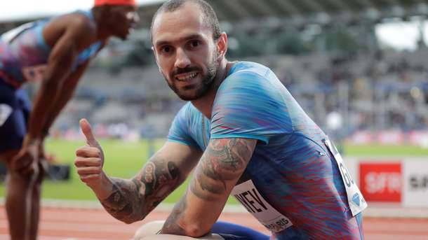 Рамиль Гулиев — второй в истории белый спортсмен, выбежал из 10 секунд на стометровке