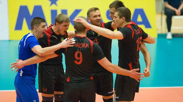 Мужская сборная Украины стала победителем волейбольной Евролиги