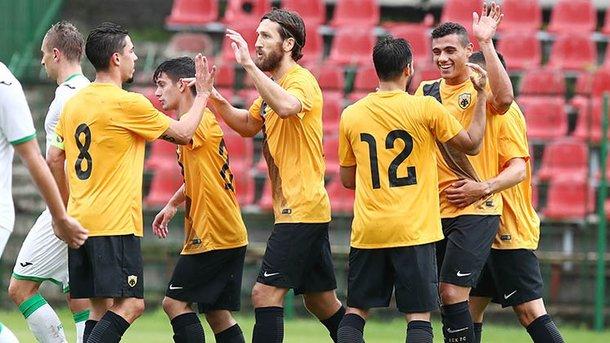 «Карпаты» сыграли вничью с 11-кратным чемпионом Греции «АЕК»