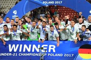 Сборная Германии выиграла молодежный Евро-2017