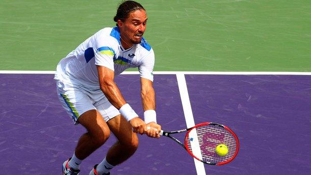 Лучший теннисист Украины Долгополов проиграл в первом раунде турнира в Австрии