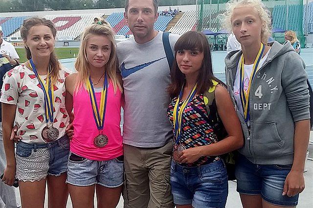 Львовянки на Чемпионате Украины-2017 по легкой атлетике завоевали две медали в эстафетах