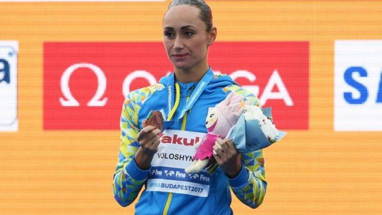 Украинская синхронистка завоевала медаль чемпионата мира