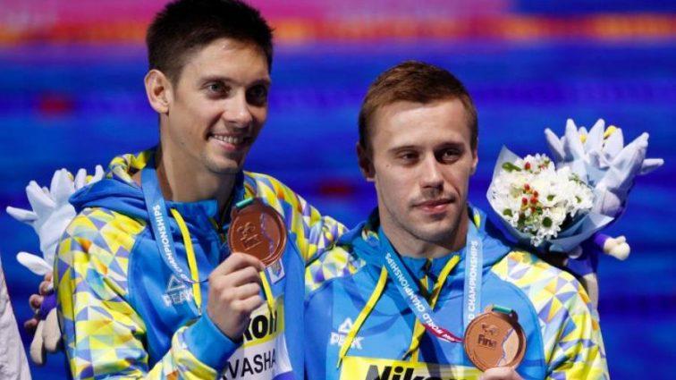 Украинцы завоевали бронзу чемпионата мира по прыжкам в воду