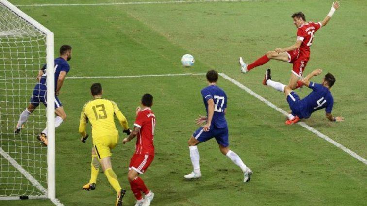 Бавария с минимальным преимуществом победила Челси