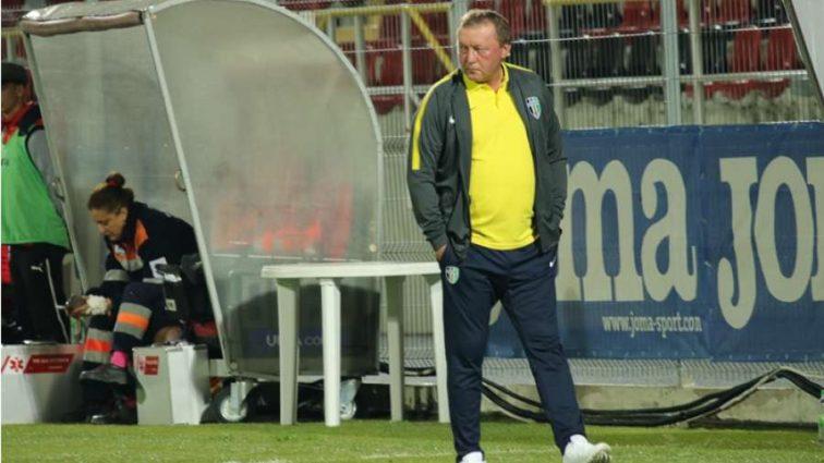 Тренер Александрии оценил игру своих подопечных в матче Лиги Европы
