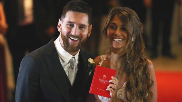 В Аргентине прошла свадьба легендарного футболиста Лео Месси