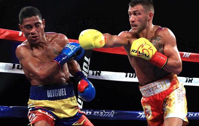 Следующий бой боксер Василий Ломаченко проведет в декабре в Нью-Йорке