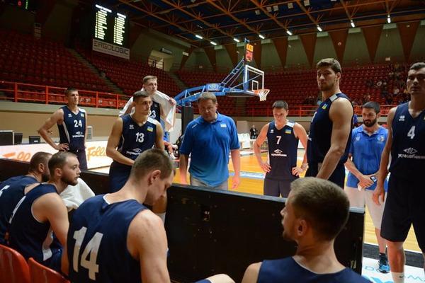 Сборная Украины по баскетболу на турнире в Греции заняла третье место