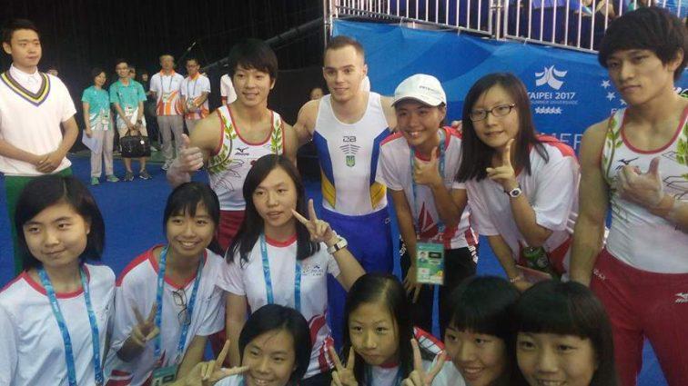 Гимнаст Олег Верняев завоевал «золото» в многоборье на Универсиаде-2017