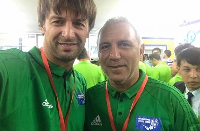 Шовковский сыграл на турнире легенд в Казахстане