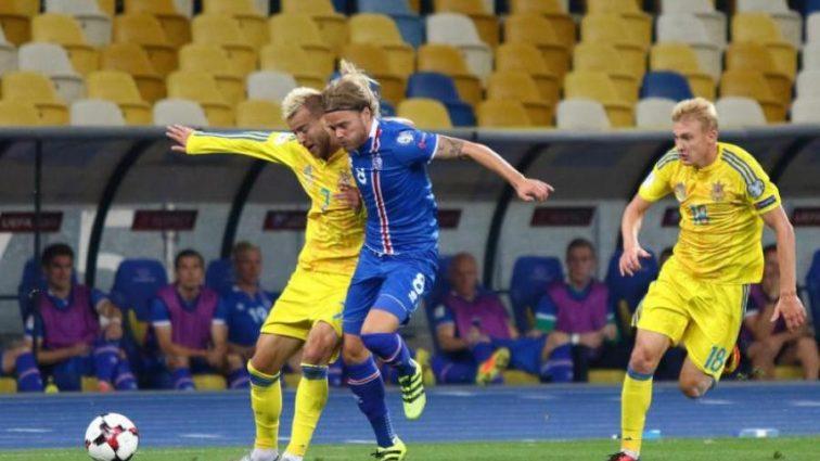 Приезд сборной Украины вызвал невероятный ажиотаж в Исландии